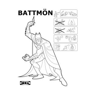 Battmön: IKEA origins t-shirts