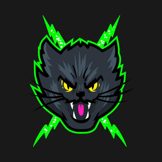 Black Electric Cat