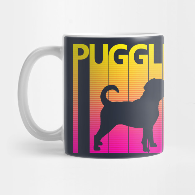 CRAZY PUGGLE MOM COFFEE MUG PUGGLE DOG MOM GIFTS PUGGLE MOTHER/'S DAY GIFTS