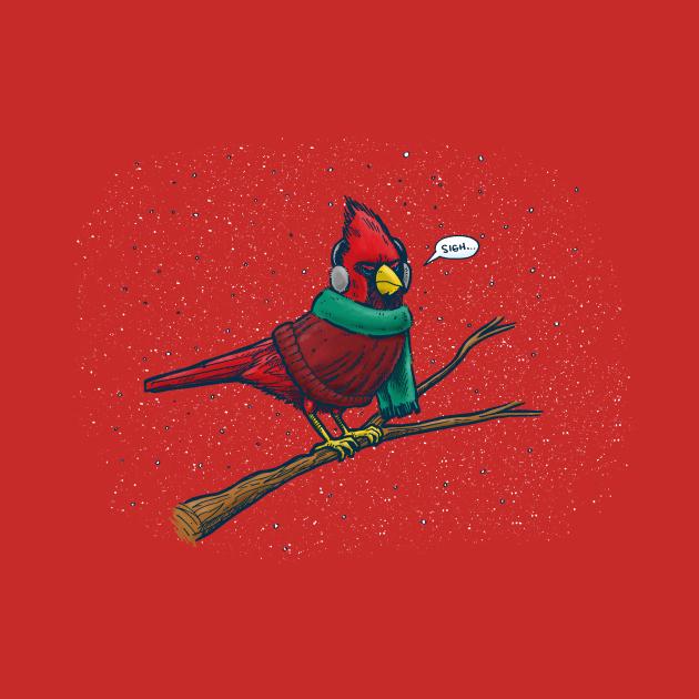 Annoyed IL Birds: The Cardinal