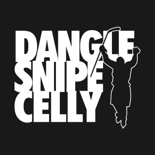 Hockey Dangle Snipe Celly t-shirts