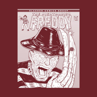 SLASHER 1 INK FREDDY t-shirts