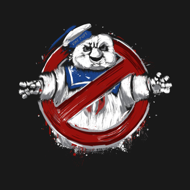 Stay Puft Busted T-Shirt