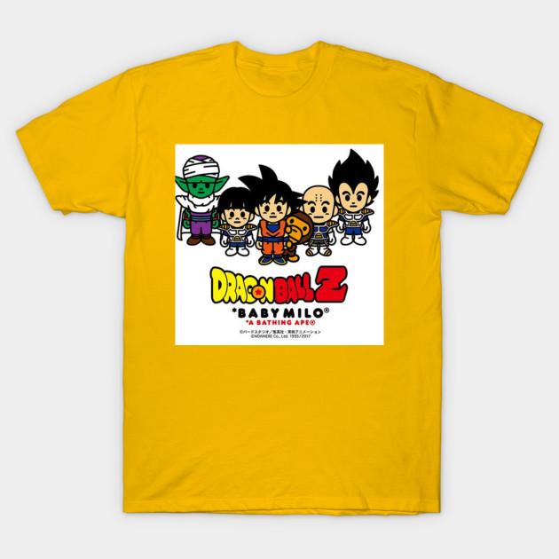 93c6386a DRAGON BALL Z X BAPE - Dragonball Z Bape - T-Shirt | TeePublic