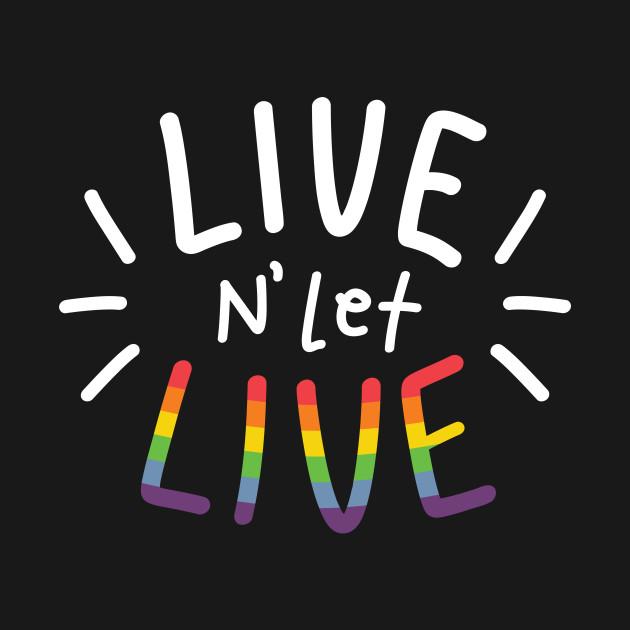 LIVE N' LET LIVE [Happy Pride WH Ver.]