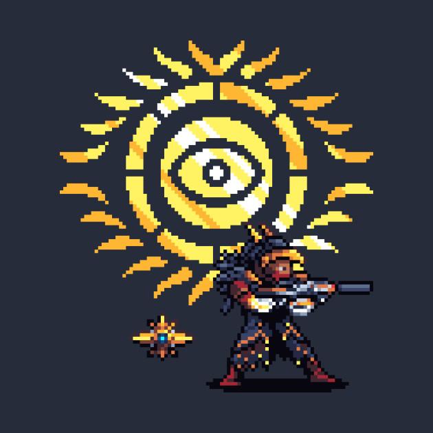 Osiris and Sagira Pixel Art