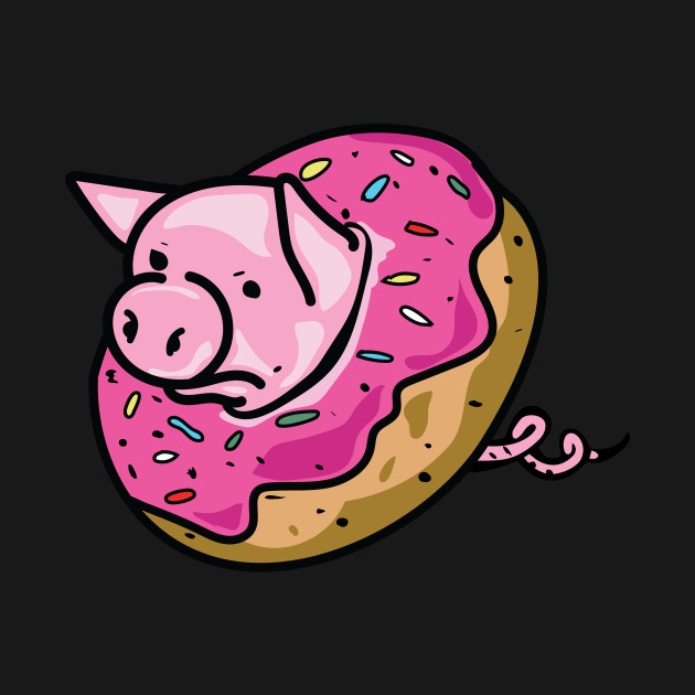 Pig Donut