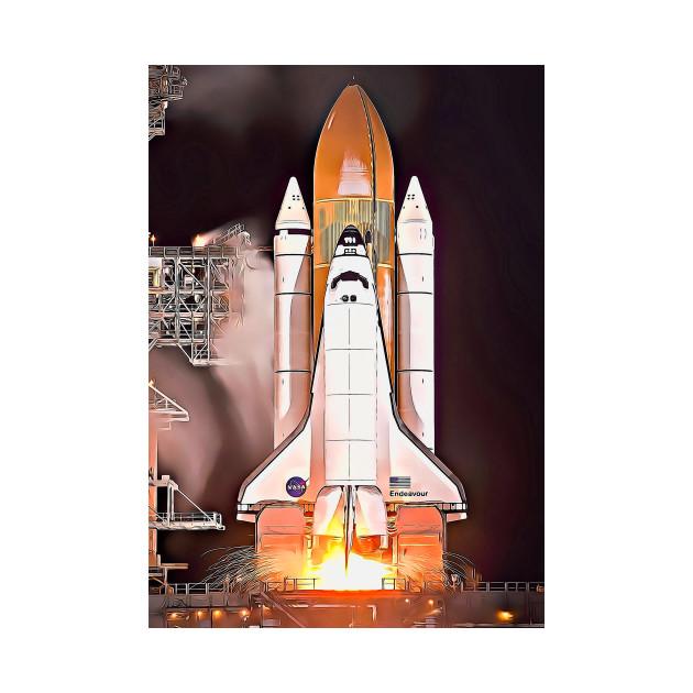 USA Space Agency Nasa shuttle
