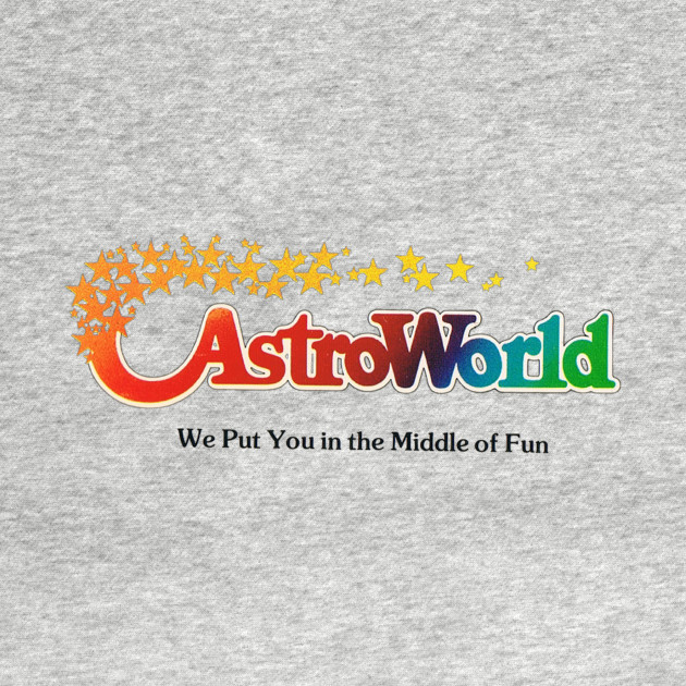 Astroworld Theme Park - Houston, Texas - Promo Logo