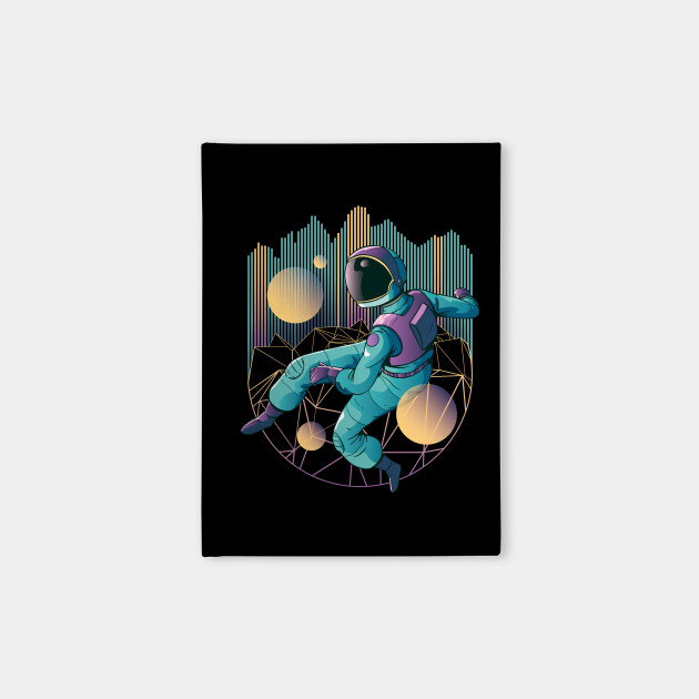 Retro Astronaut Print