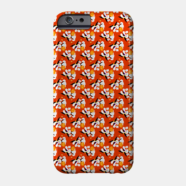 Halloween Witch Bunny Pattern Phone Case