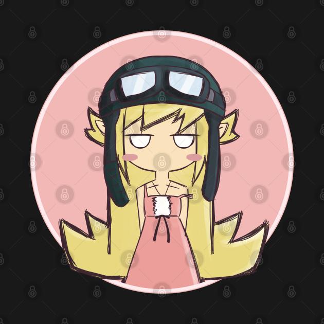 """Oshino Shinobu (Monogatari Series) """"Pilot Hat 2"""""""