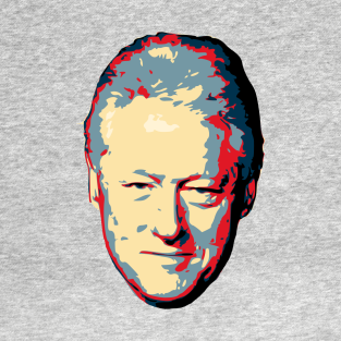 Bill Clinton Pop Art t-shirts