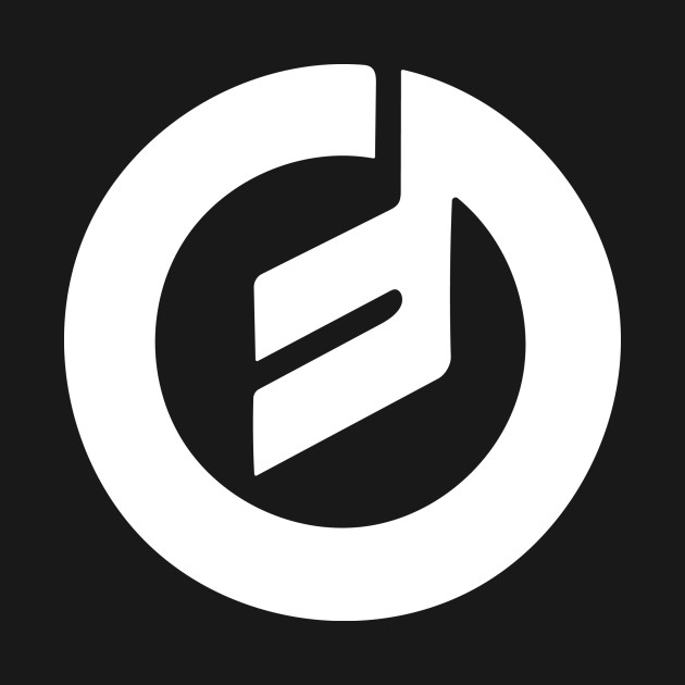 Moog Music white emblem