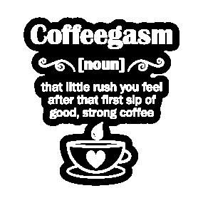 coffee humor quotes stickers uk