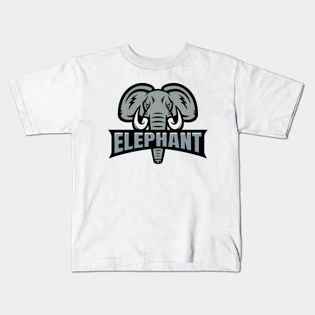 a59b95afb41b4 Elephant Face Logo Kids T-Shirt