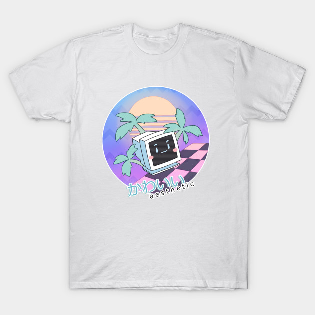Kawaii a e s t h e t i c vaporwave t shirt teepublic for Print a photo on at shirt