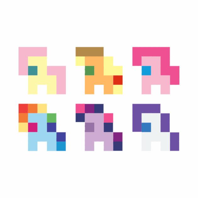 Pixel Ponies