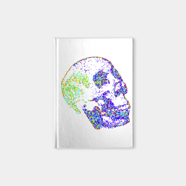 Multi Colored Skull