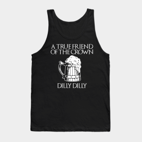 b238af237f2ea1 Dilly Dilly Tank Tops