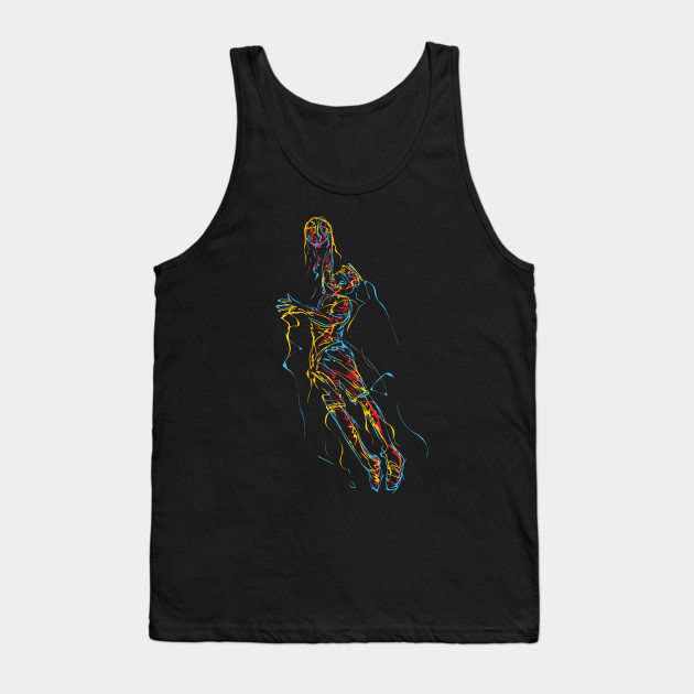 basketball awesome art Tank Top