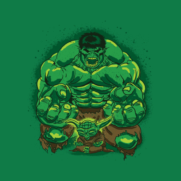 Hulk and Yoda