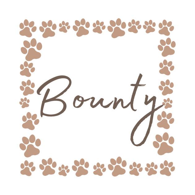 Pet name tag - Bounty