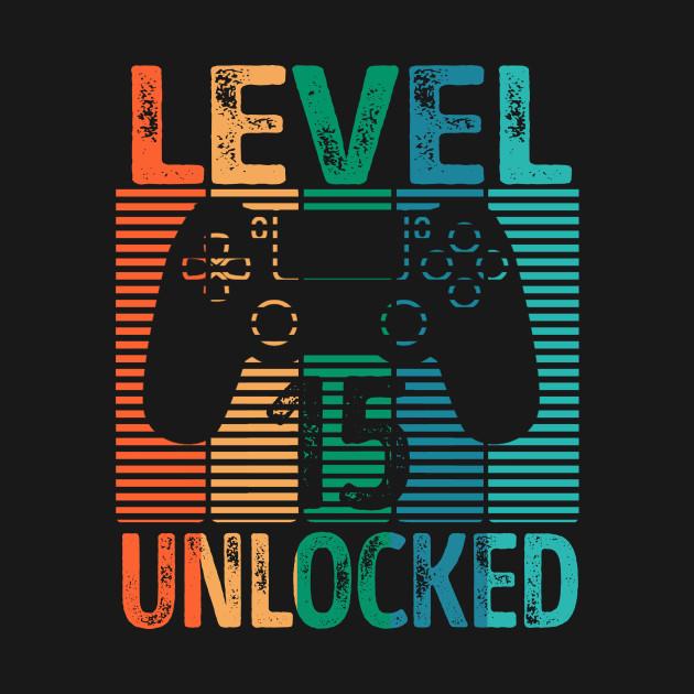 Gamer Level 15 Unlocked Teen Shirt 15th Birthday Video Game