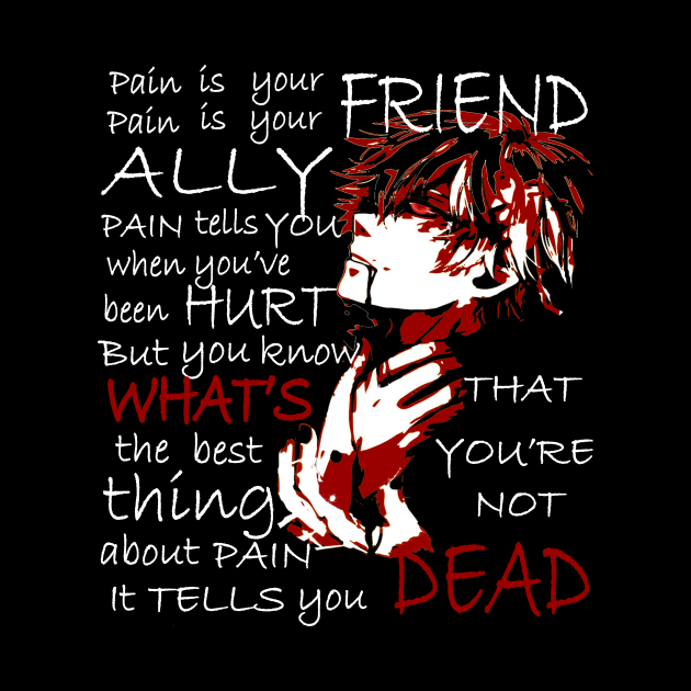 Pain is your friend