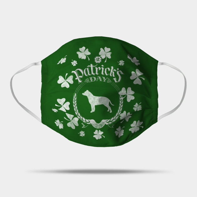 St. Patrick's Day Pit Bull Funny Gifts for Dog Lovers