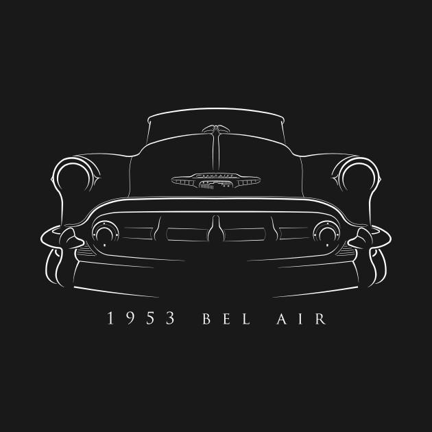1953 Chevy Belair - stencil
