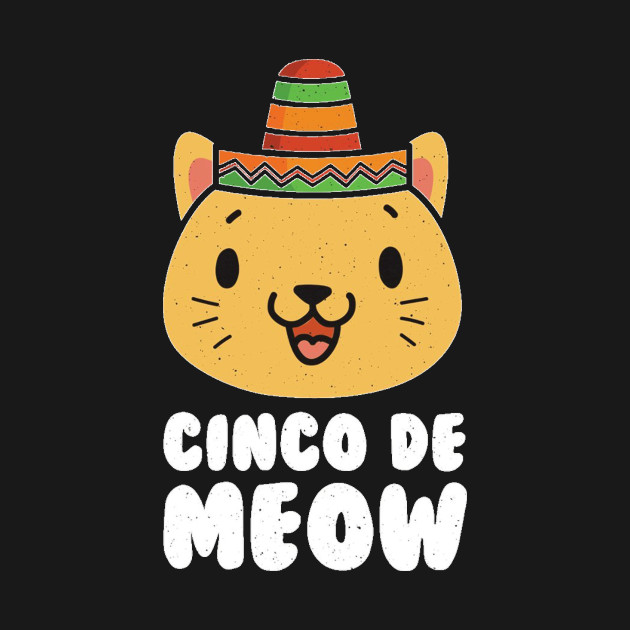 Cinco de Meow Shirt - Funny Cinco De Mayo