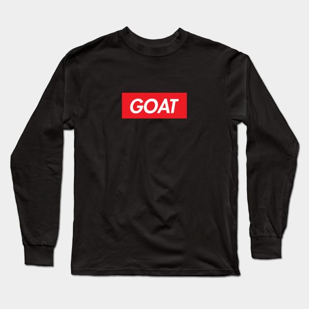 ebe6c2fd0c68 Supreme GOAT - Goat - Long Sleeve T-Shirt | TeePublic