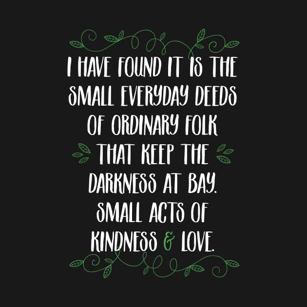 Words of wisdom from Gandalf