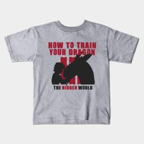 a350c1482a How To Train Your Dragon The Hidden World Kids T-Shirts | TeePublic