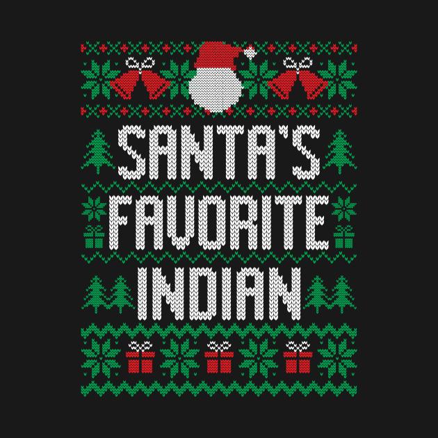 Santa's Favorite Indian