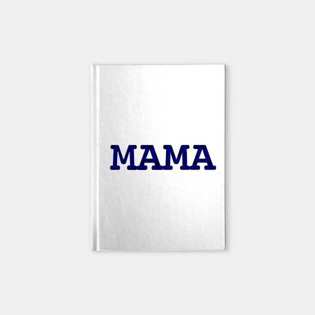Mama Dark Blue Check