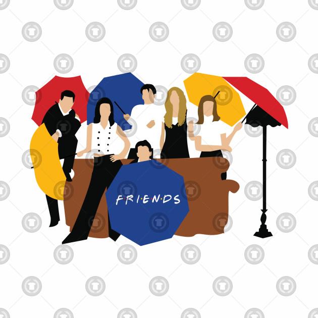 8994d760 Friends Umbrella - Friends - Baseball T-Shirt | TeePublic