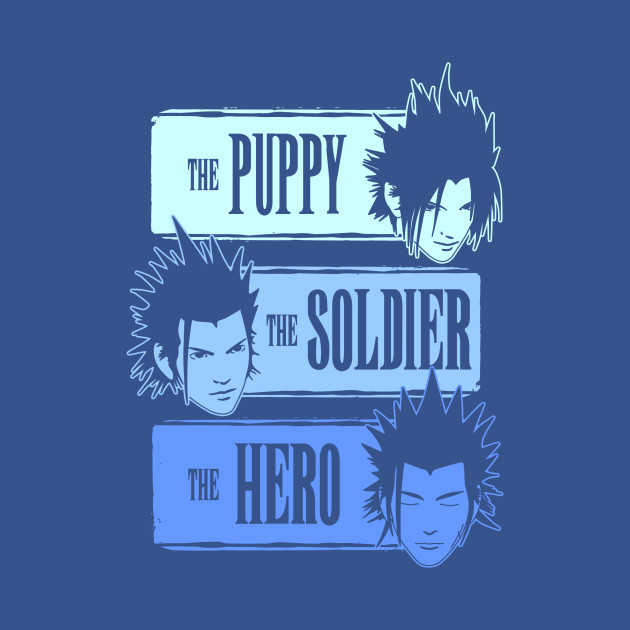 The Puppy, the Soldier and the Hero