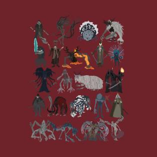 Bloodborne all bosses