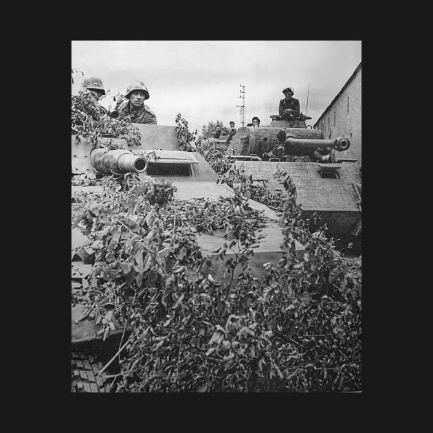 German Panzer Lehr Division WW2 Caen Normandy
