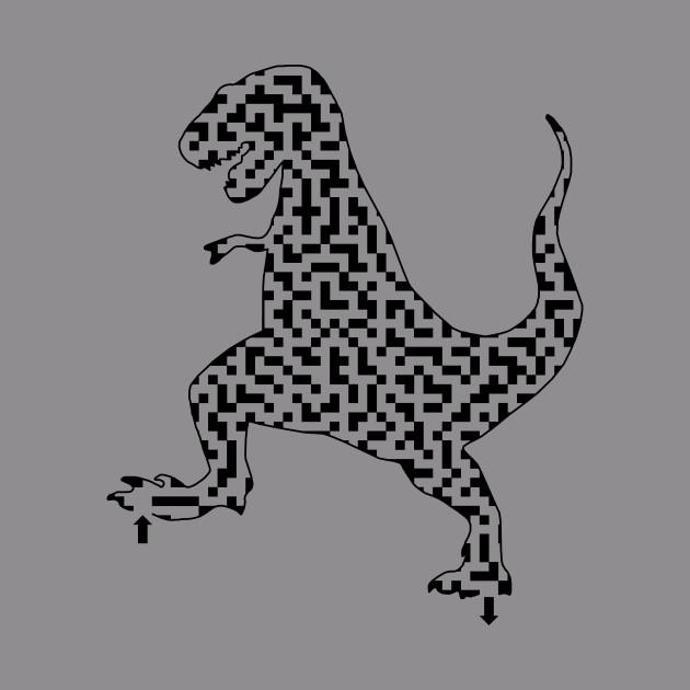 Tyrannosaurus Rex Dinosaur Maze