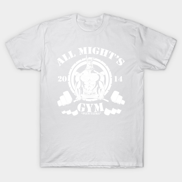 All Might's Gym T-Shirt-TOZ