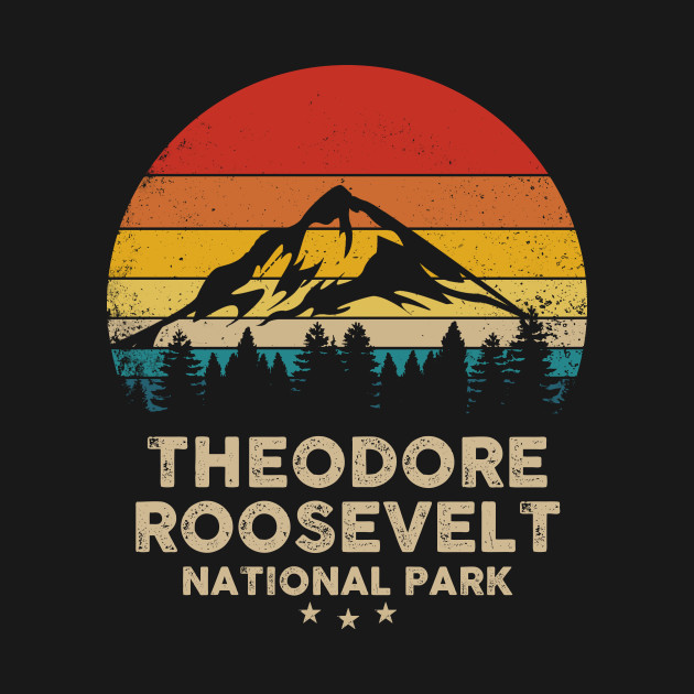 Theodore Roosevelt National Park North Dakota Sweatshirt Distressed