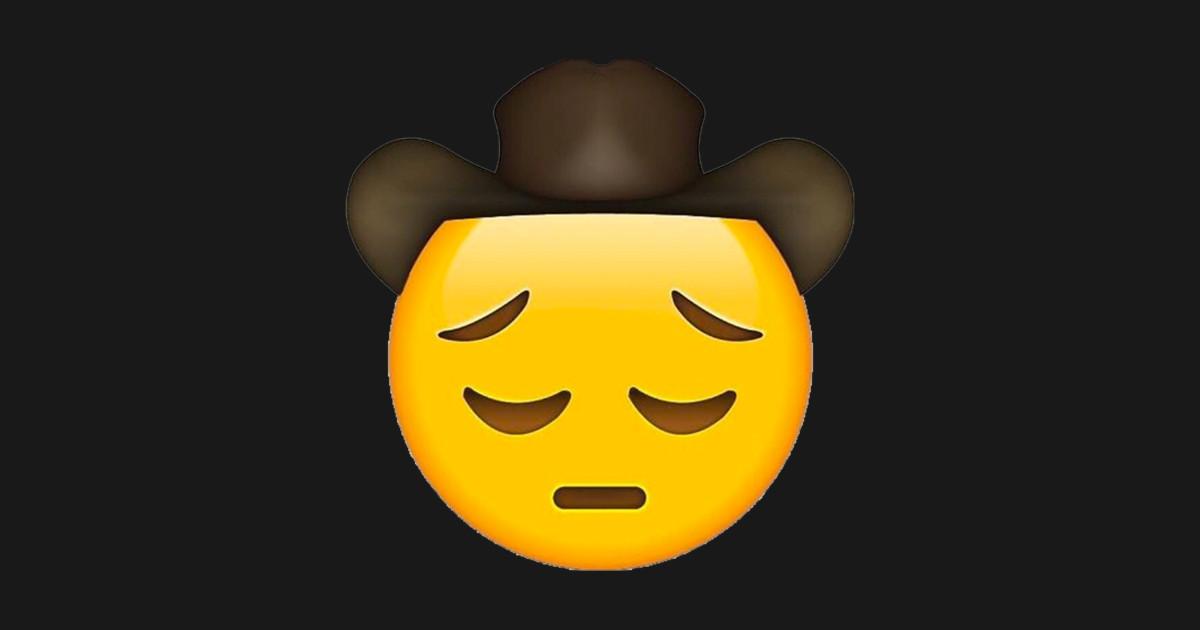 Sad Cowboy Emoji (Lil Nas X) by futuregadgetstoday
