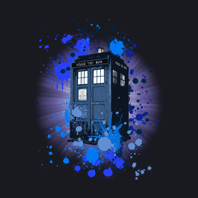 Doctor Who Paint art