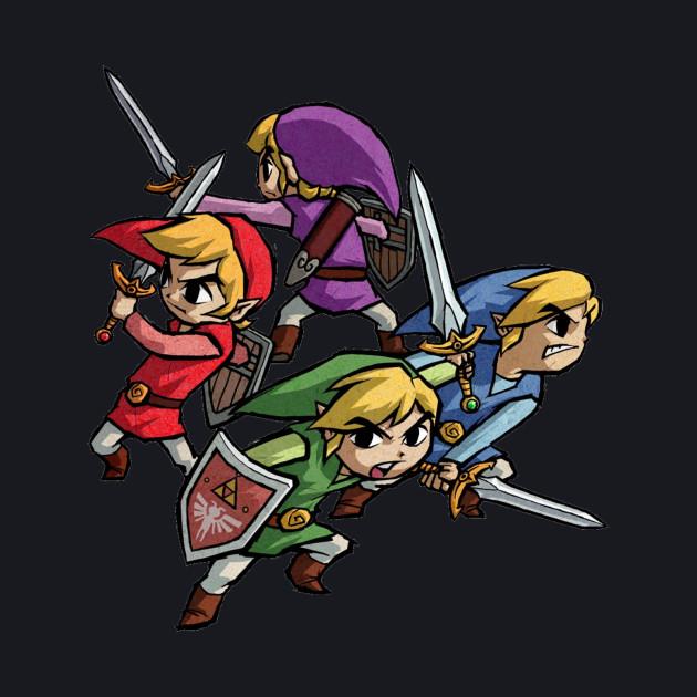 Legend Of Zelda Four Swords