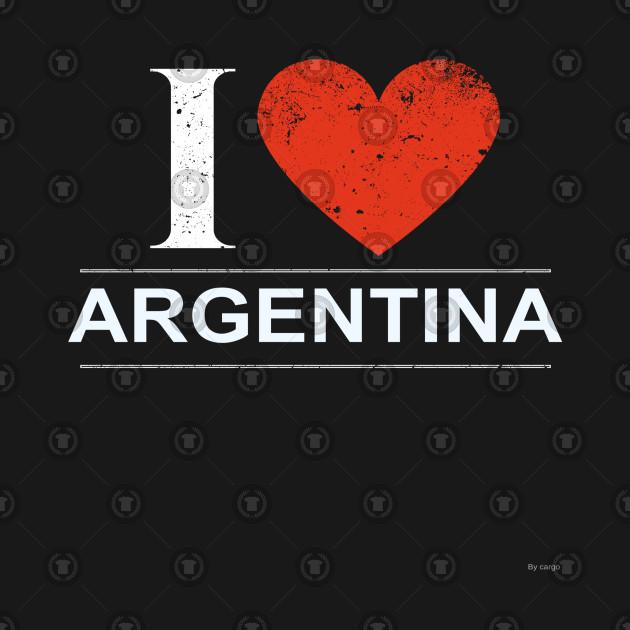 I Love Argentina - Gift for Argentine