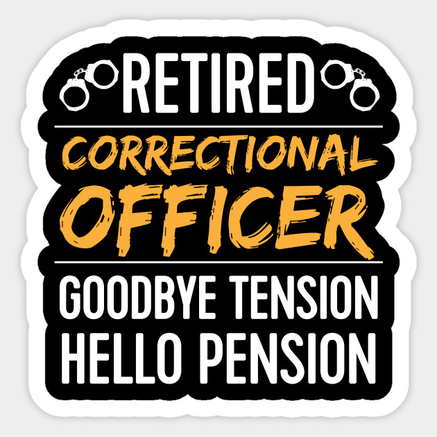 correctional officer Funny Retirement