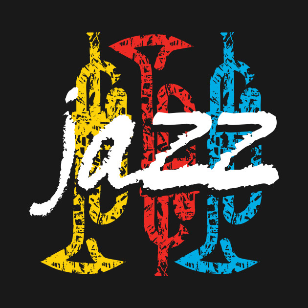 Fancy Typographic Jazz Themed Design